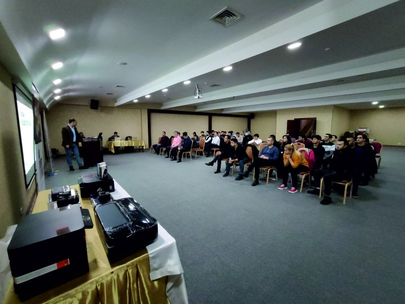 On December 2, a training on Canon products was held at the Ambassador Hotel Baku.