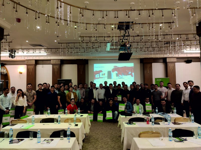 A joint training held by Gulfstream Distribution and Acer
